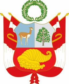 peru national coat of arms