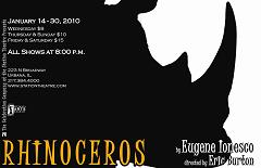 Rhinoceros play Eugène Ionesco