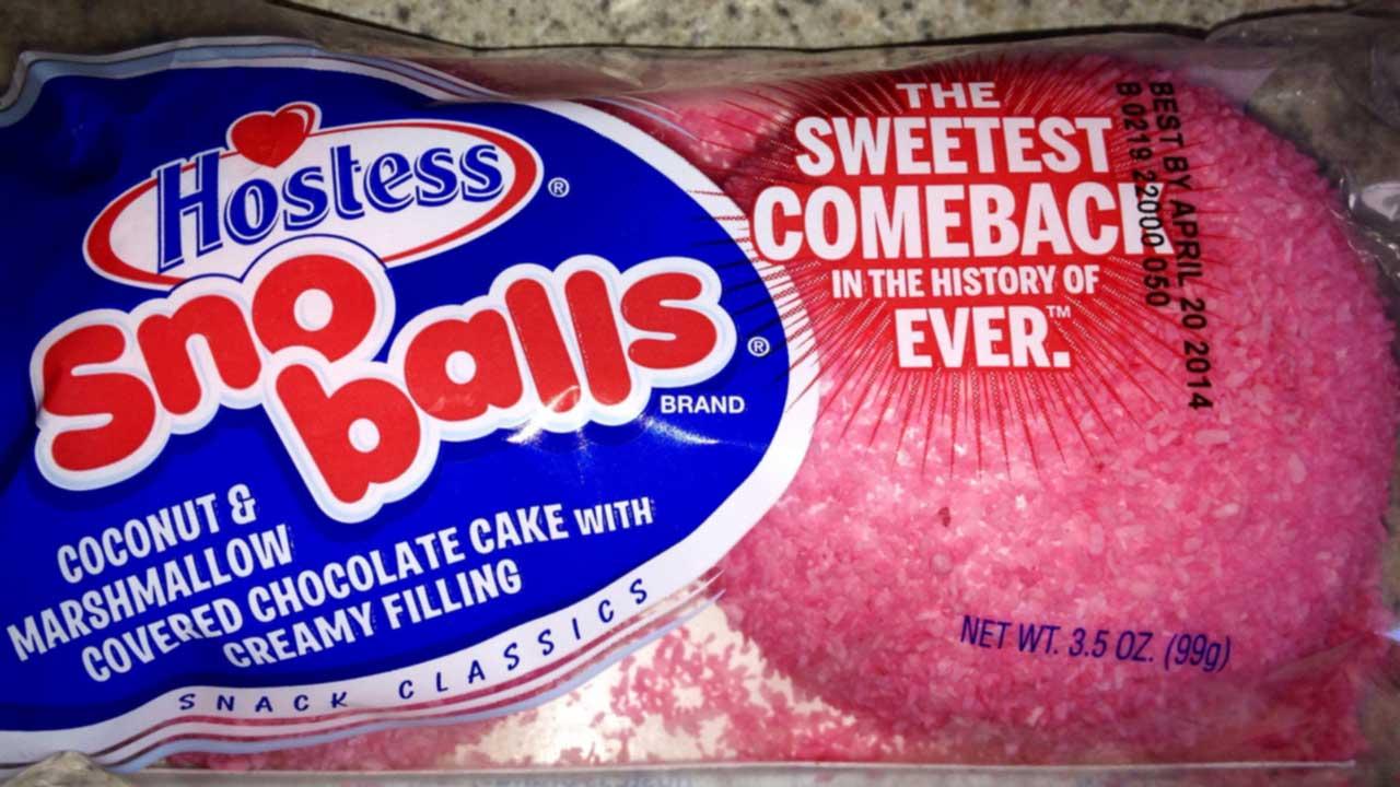 Pink Hostess Sno Balls