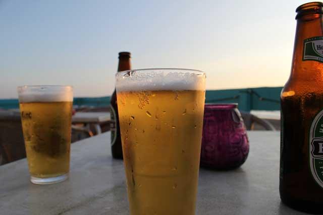 warm beer vs cold beer