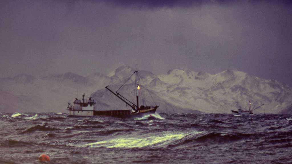 How did the bering sea get its name and where is the for Bering sea fishing