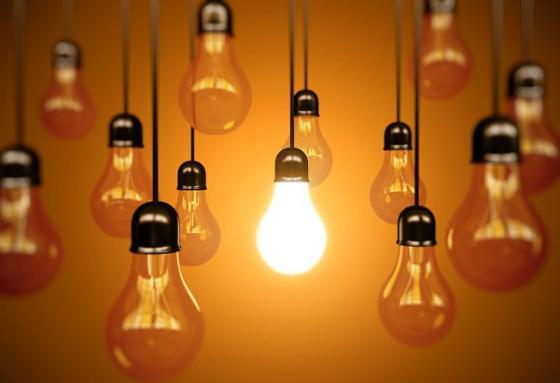 light bulbs blow