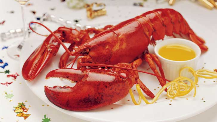 why do lobsters turn red