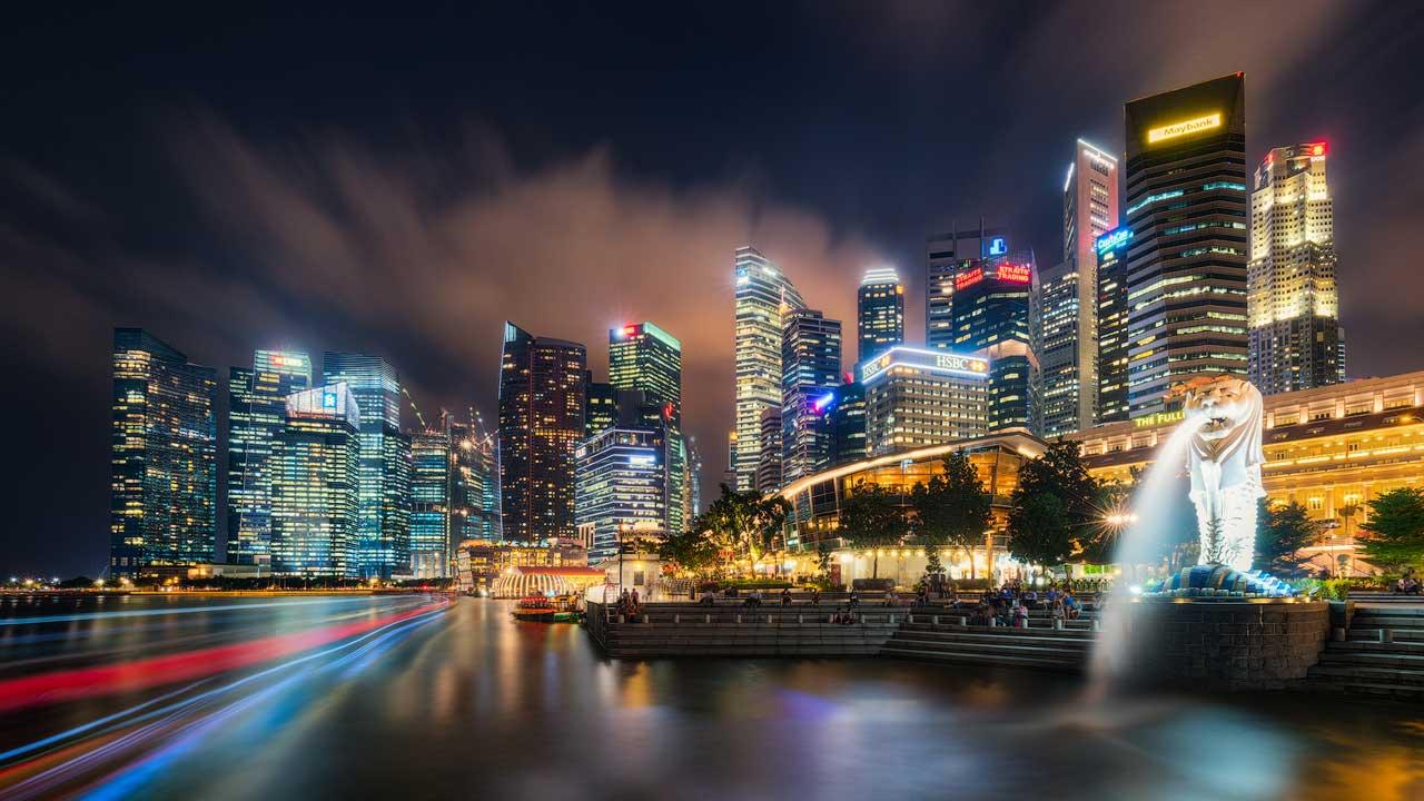 merlion lion city singapore