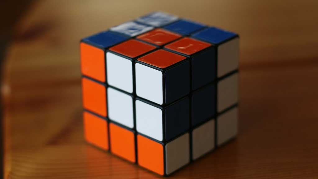 another way to solve a Rubik's Cube