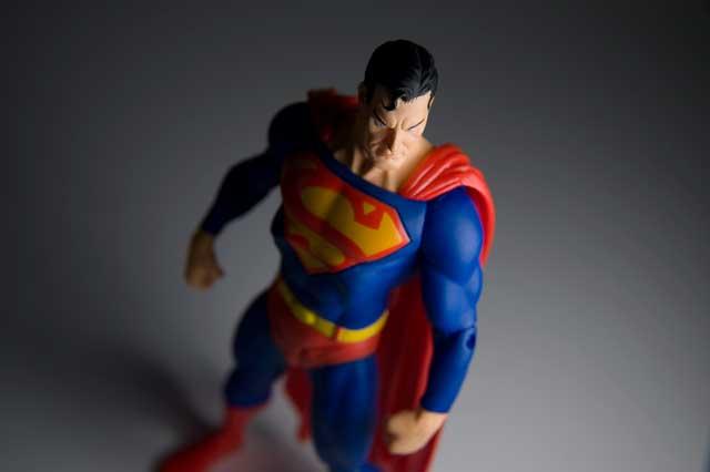 superman x-ray vision